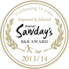 Look what we won...Sawday's award winners!
